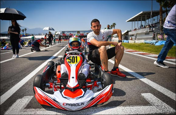 Young UAE Karting Star Rashid Al Dhaheri Achieves Podium Success at Prestigious Andrea Margutti Trophy Event
