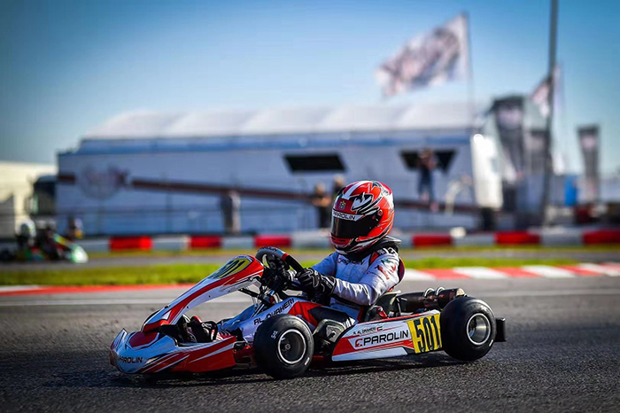 New Podium for Rashid Al Dhaheri, second best of the league among the top 100 international young karting drivers representing 51 countries